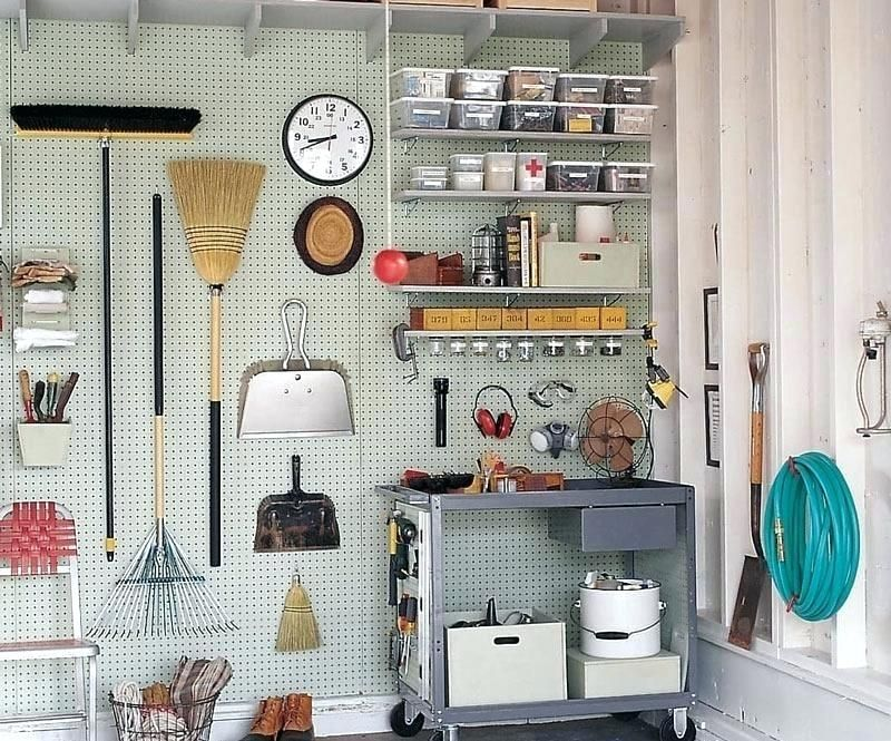 pegboards for organisation craft shed tips Shed