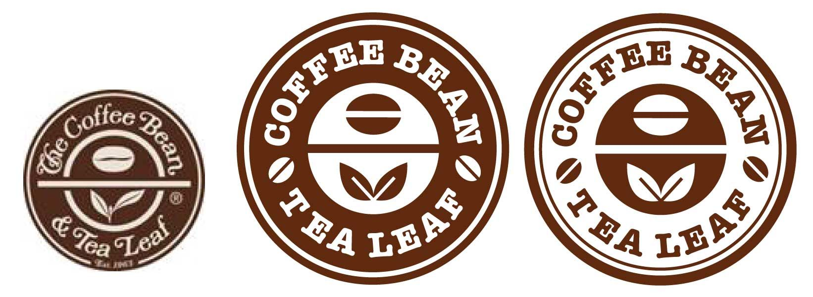 I always thought Coffee Bean's logo was kinda bland and