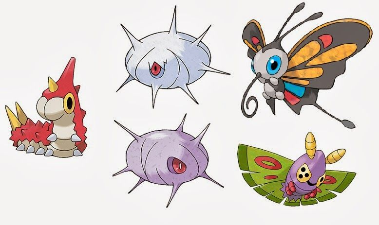 Dustox evolution chart, this is enough pokemon for 2 ...