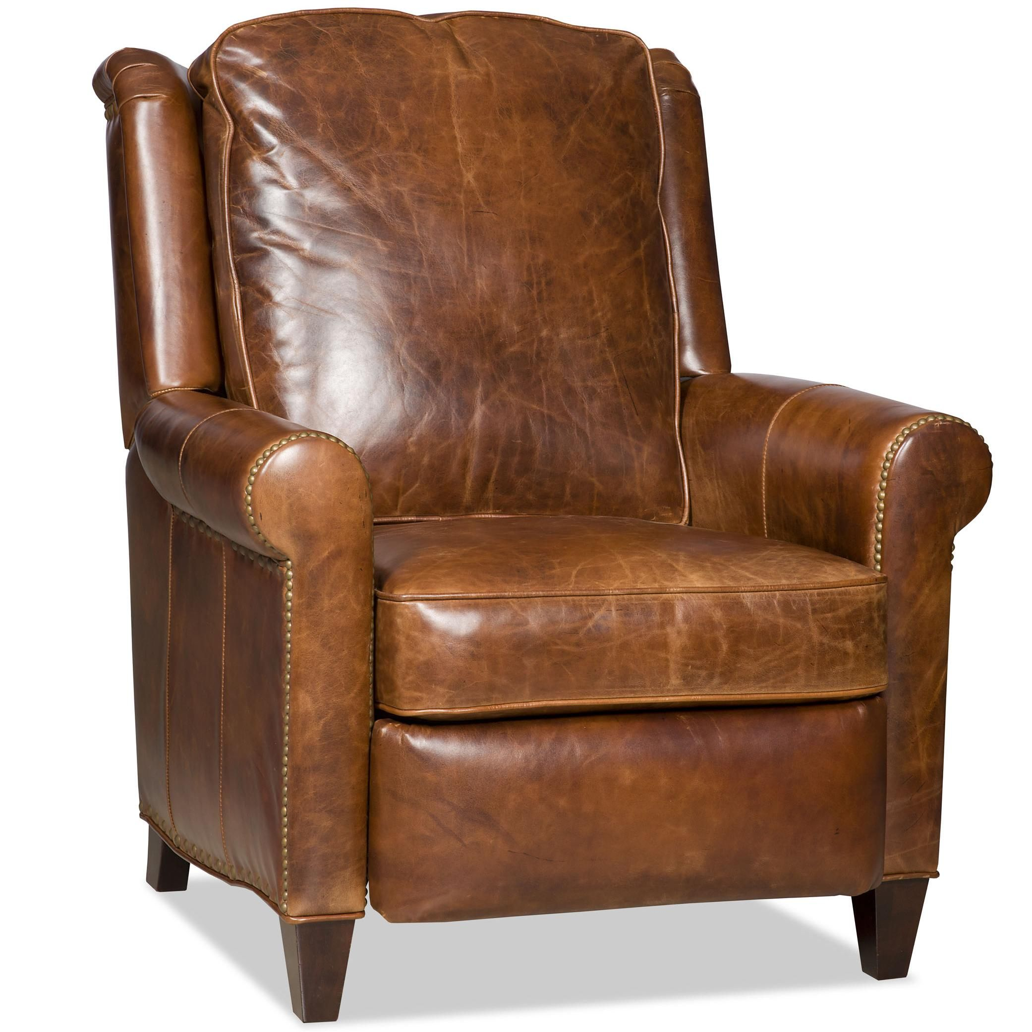 Bradington Young Aubree Leather Recliner Leather Furniture Leather Recliner Chair
