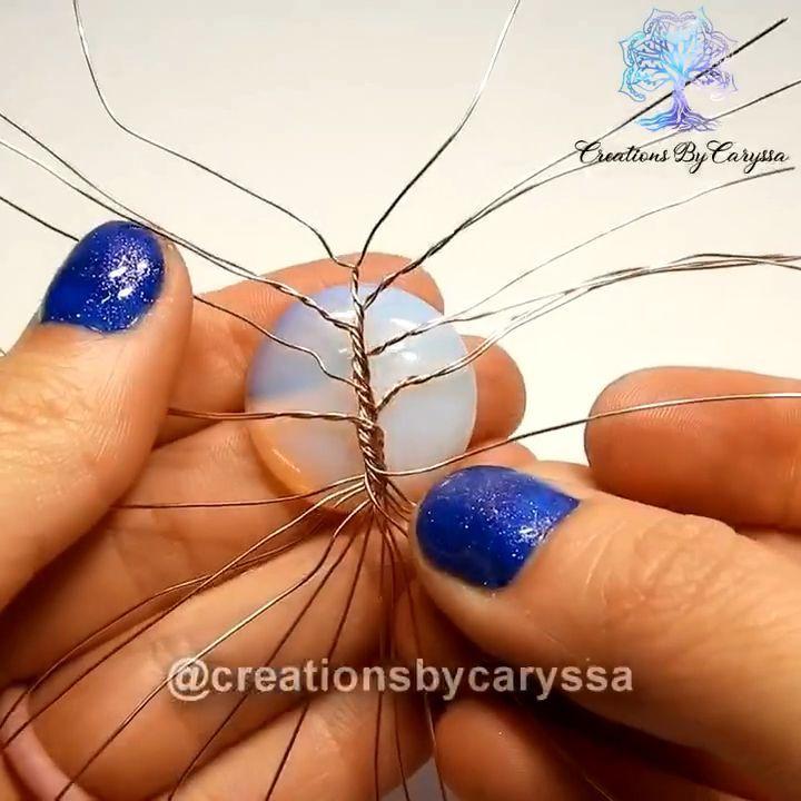 Photo of How I make my Tree of Life Pendants –   – #diamondrings #diyjewelryideas #diyjew…