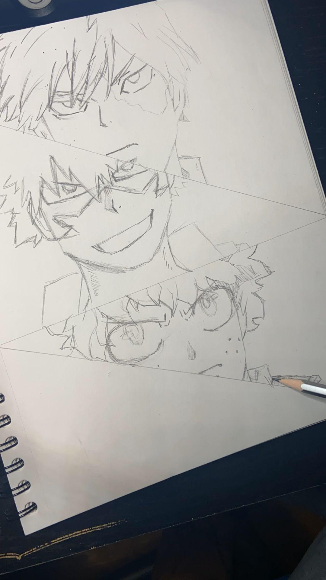 How to Draw My Hero Academia
