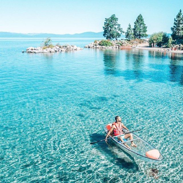 Take These Glass-Bottom Kayaks Out In Nevada For A