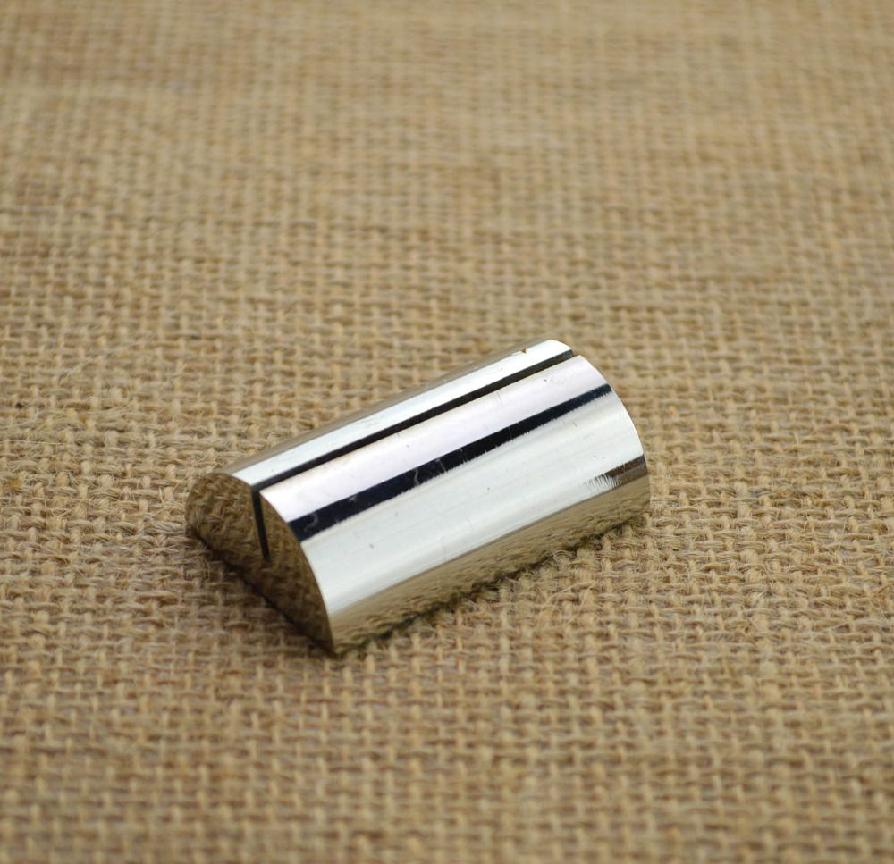 Solid semicircle/Stainless steel/Table plate/Business card holder ...