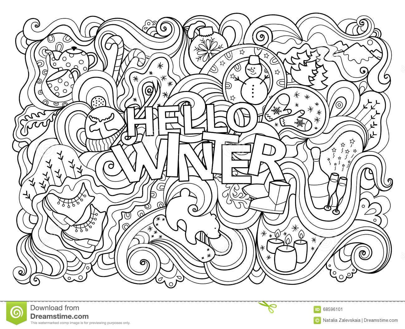 Winter Coloring Pages All Best Of Page Coloring Pages Winter Coloring Books Coloring Pages