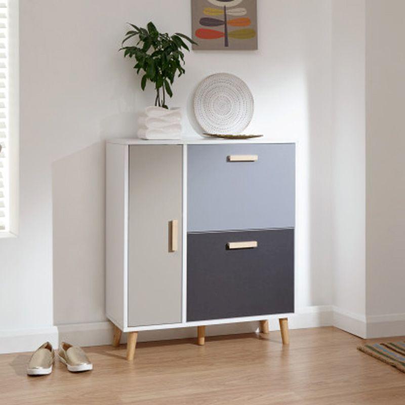 delta shoe storage white grey 3 door great online value on shoe rack wooden with door id=43261