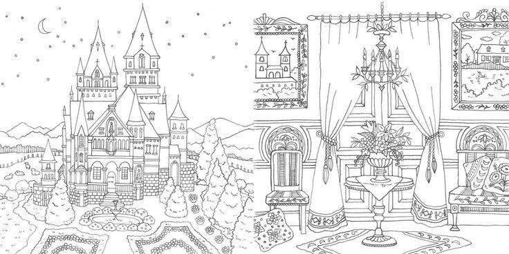 romantic country coloring book google search