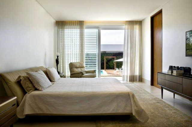casa do patio chambre à coucher design