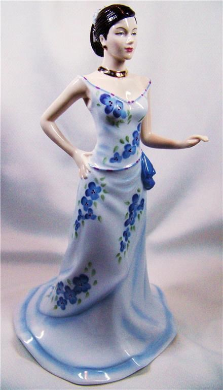 Royal Doulton Figurine Pretty Lady CHARLOTTE HN 4919 ...