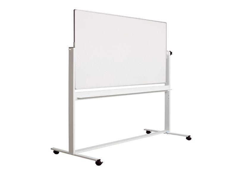Movable Revolving Board Pro Enamel 120x240 Cm Revolving Boards Stands Flipcharts Sam International