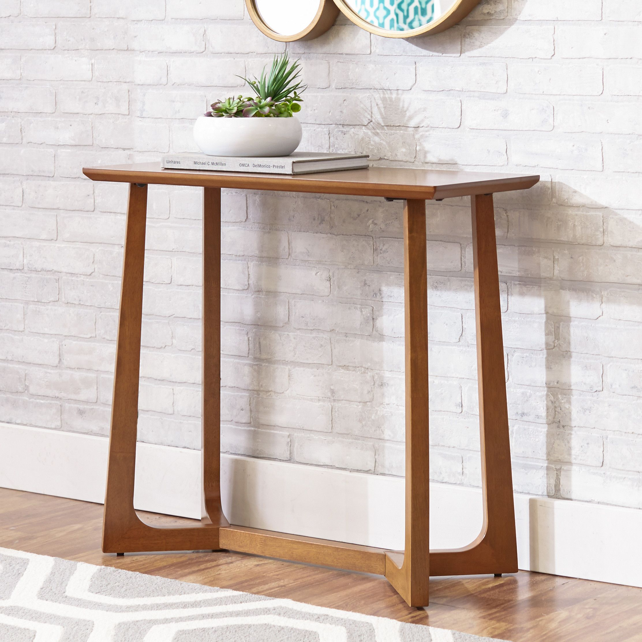 master demilune company product console coaster cappuccino table transitional furniture america cfm tables hayneedle of