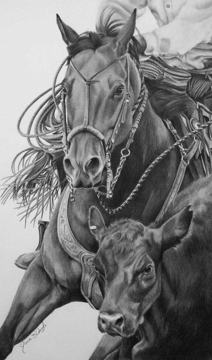 Southwest Roundup Com Imagens Cavalos Pintados Cavalos Arte