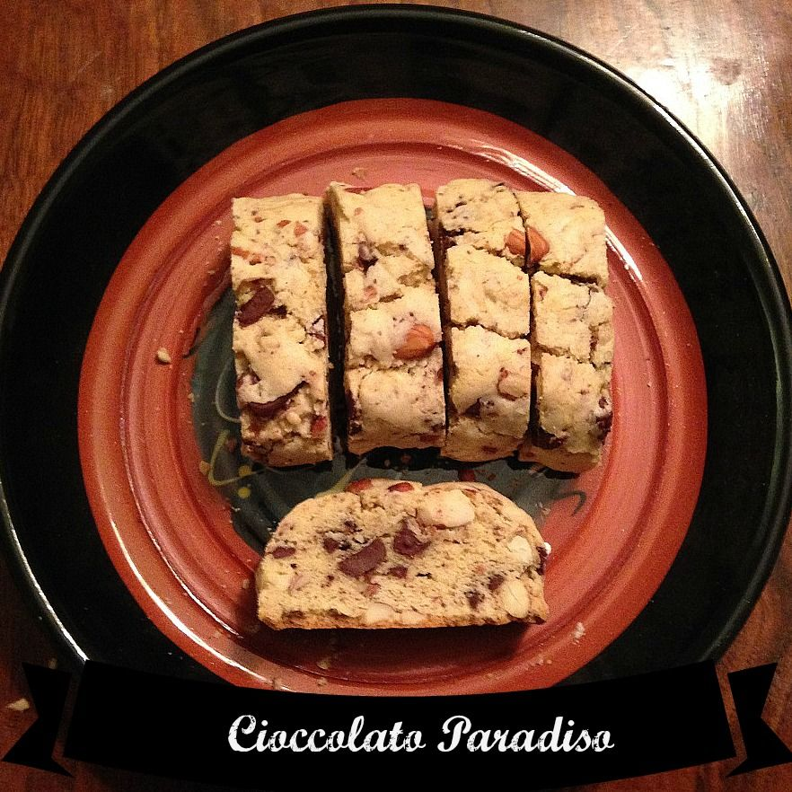 Biscotti Cioccolato Paradiso | This delicious recipe makes a good gift for shipping or traveling with to visit family and friends.