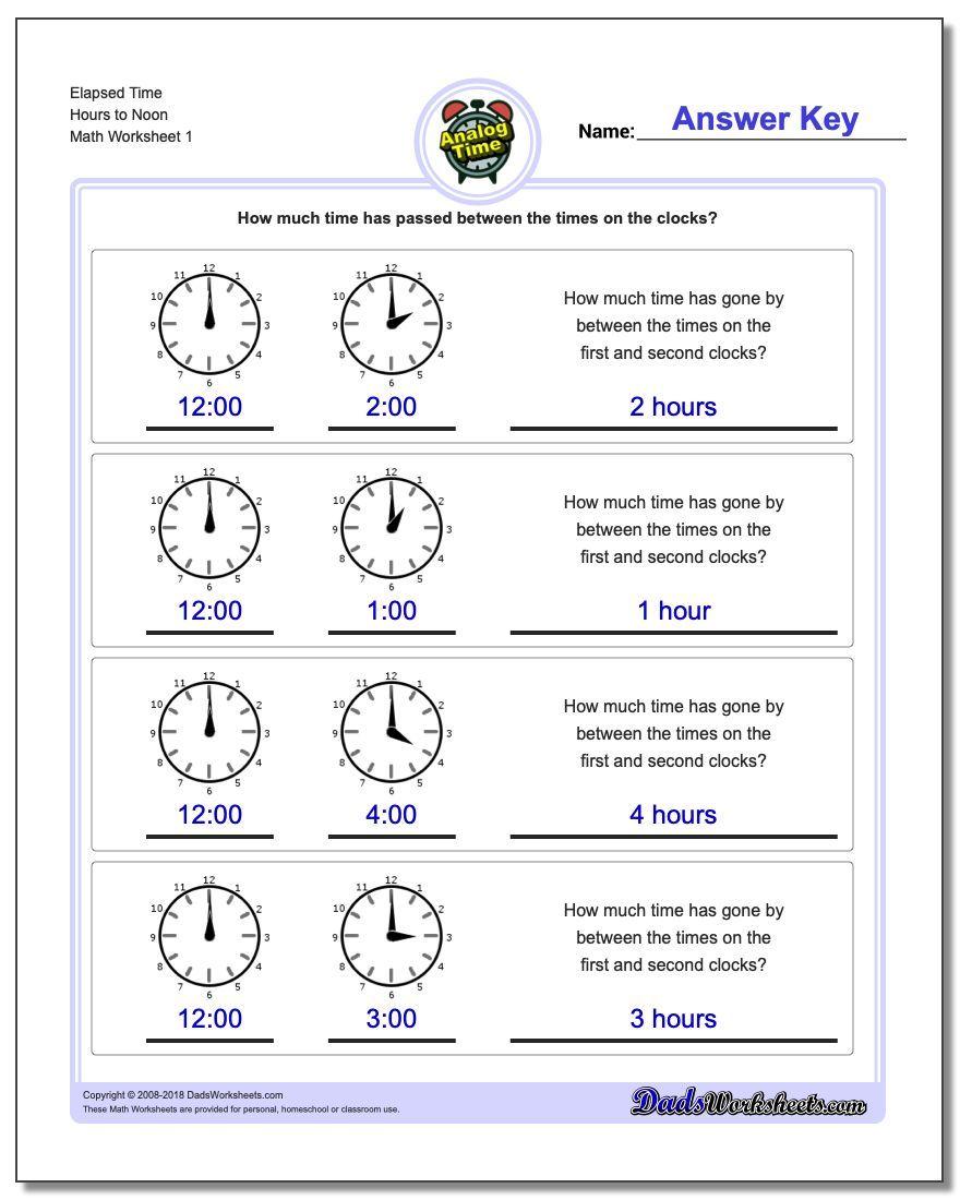 Https Www Dadsworksheets Com Start From Full Hours Analog Elapsed Time Worksheet Elapsed Time W Time Worksheets Elapsed Time Worksheets Time Word Problems