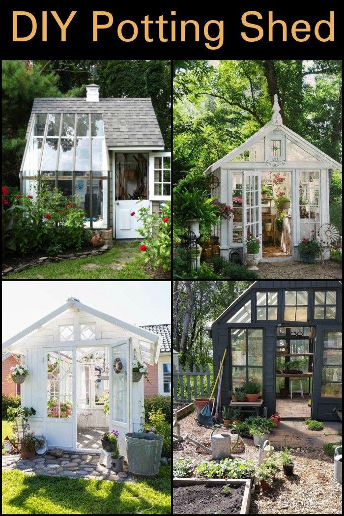DIY Potting Shed | Pinterest | Garden tool storage, Seeds and Gardens