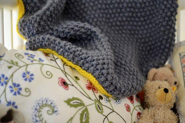 Babydecke stricken | DIY Crochet | Pinterest | Babydecken, Stricken ...