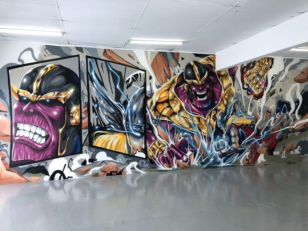Murales Thanos