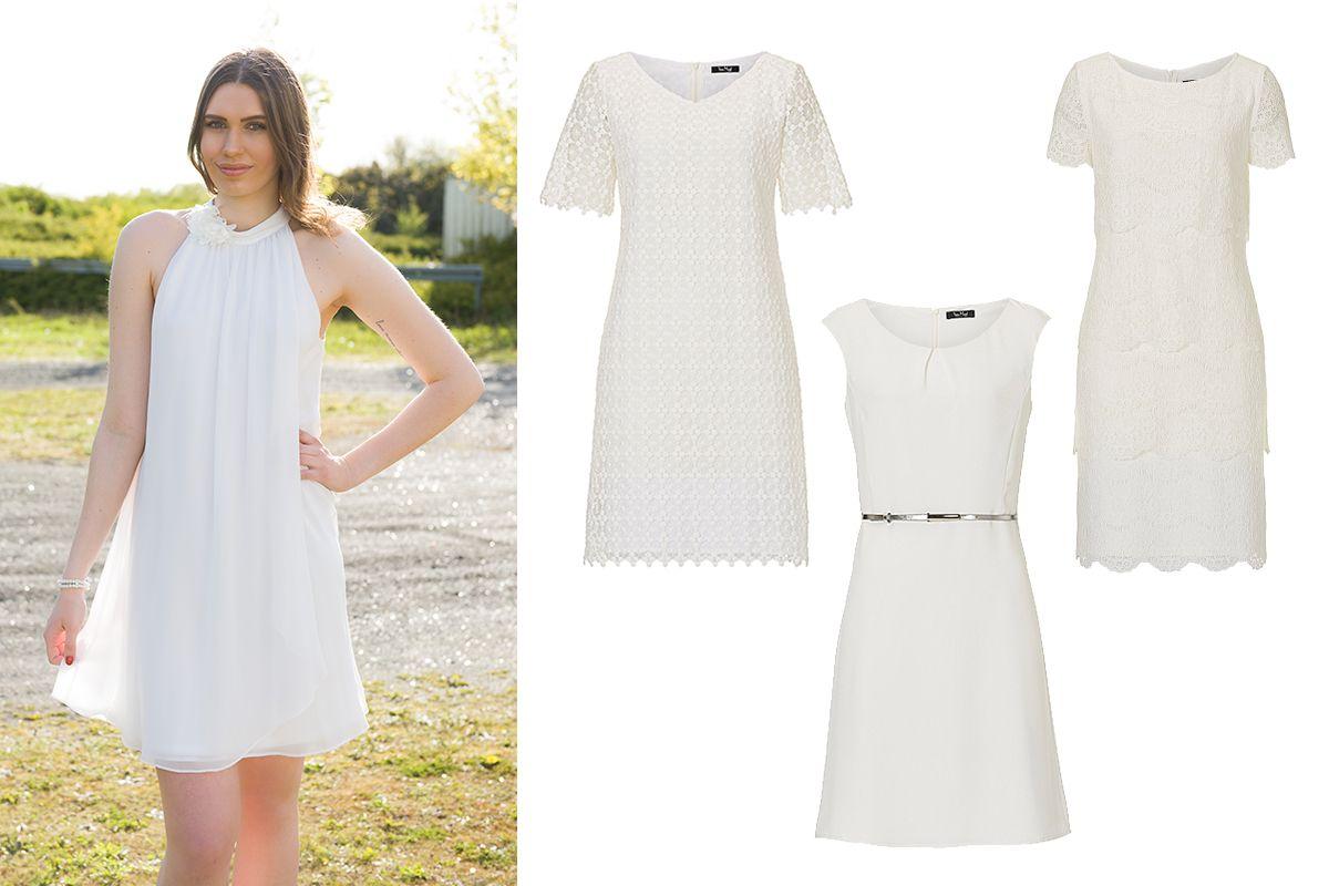 kurze Brautkleider von Vera Mont | Brautkleider | Pinterest | Vera ...