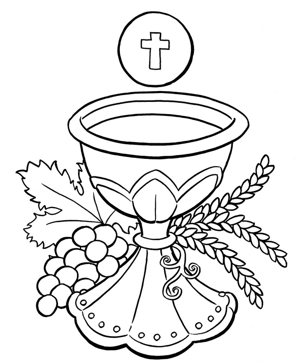 Lent Coloring Pages - Best Coloring Pages For Kids Communion Banner, First  Communion Banner, Catholic Coloring