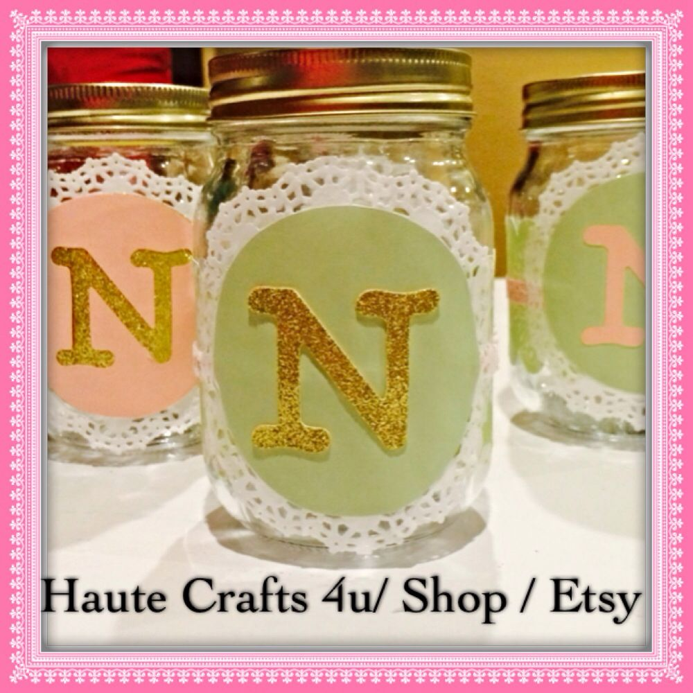 Chic and Unique Mason Jars Great for
