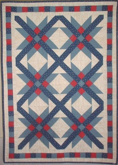 MEXICAN STAR QUILT - PC | Other crafts | Pinterest | Cathedral ... : mexican quilt - Adamdwight.com