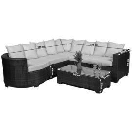 Buy Marbella Rattan Corner Sofa Set From Our Rattan Garden Furniture Range Tesco Rattan Corner Sofa Corner Sofa Set Sofa Set