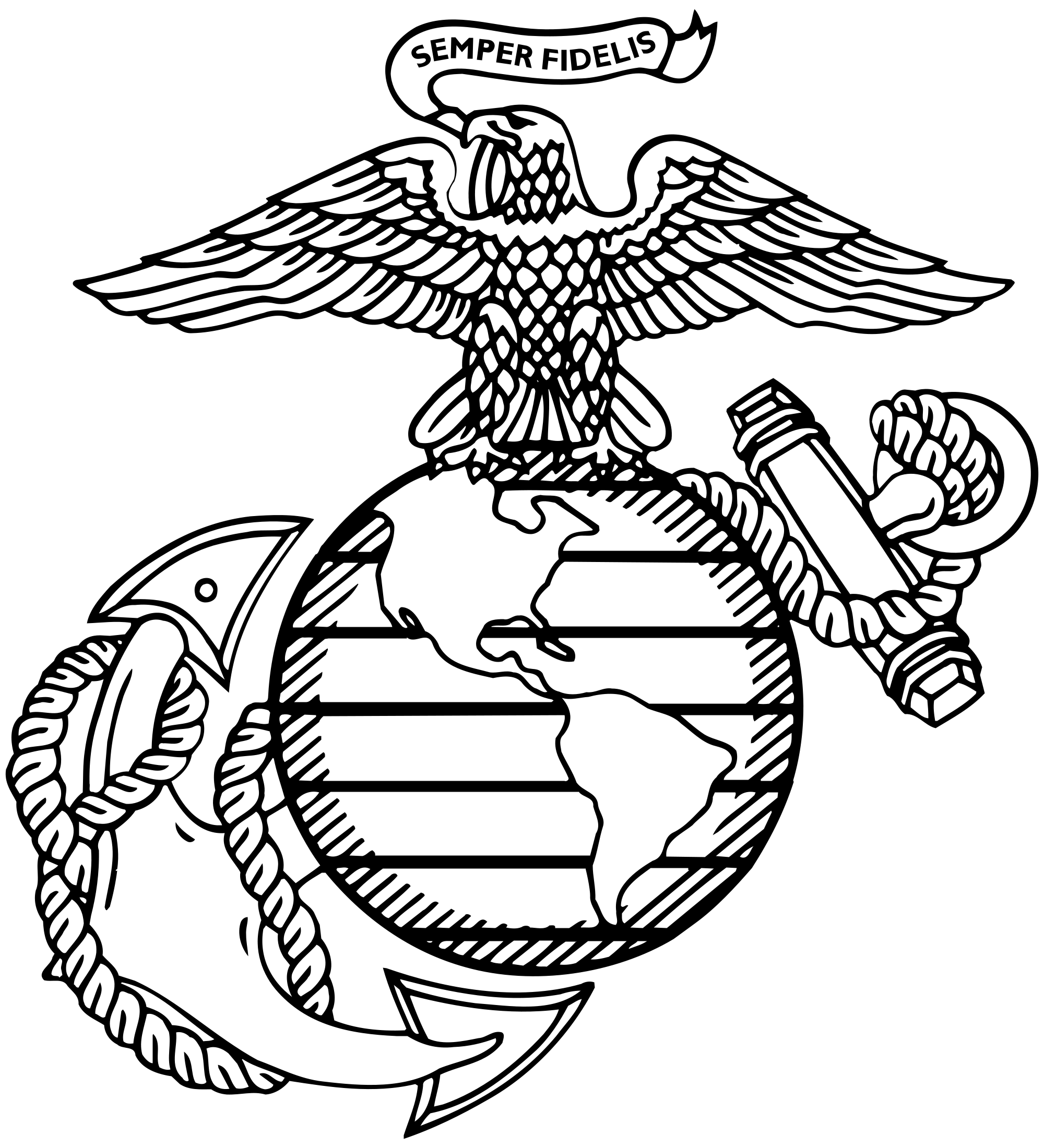 eagle globe and anchor images Google Search Marine