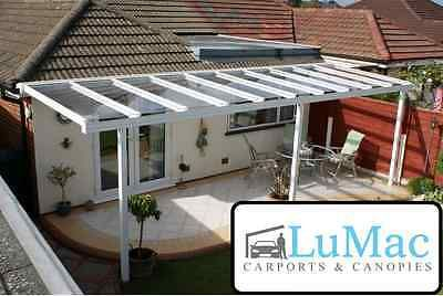 Glass clear garden awning patio shelter canopy lean to sun shade protection kit & Glass clear garden awning patio shelter canopy lean to sun shade ...