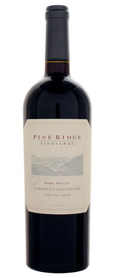 2008 Pine Ridge Cab (With images) | Napa valley cabernet ...