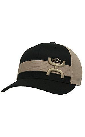 5041382a0a2 Hooey black with khaki stripe roughy logo flex fit cap cavender jpg 300x480  Outfits hooey roughy