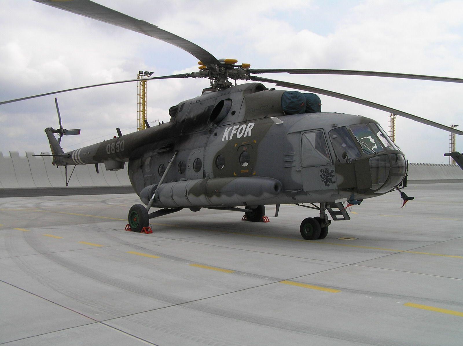 "Czech Air Force Mil Mi-17 ""Hip""."