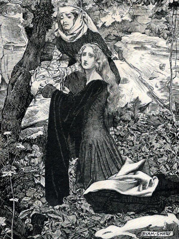 Dzhovanni Bokkachcho Dekameron Illyustrator Byam Shaw 1899 Kartiny Illyustrator Karty Taro