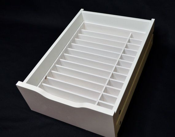 about this product this palette organizer is handcrafted with high quality wood to fit perfectly into the ikea alex 9 drawer set