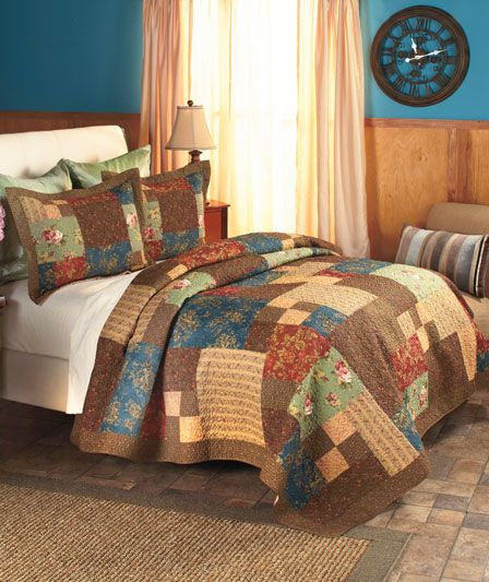 rachel quilted bedding or valance the lakeside collection quilt pinterest quilt bedding. Black Bedroom Furniture Sets. Home Design Ideas