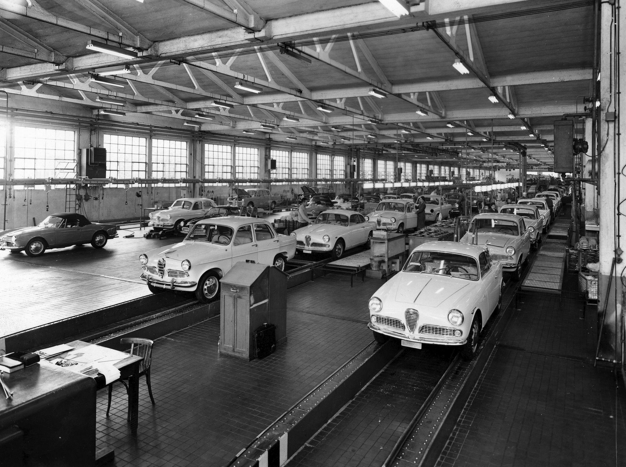 alfa romeo assembly line | cars