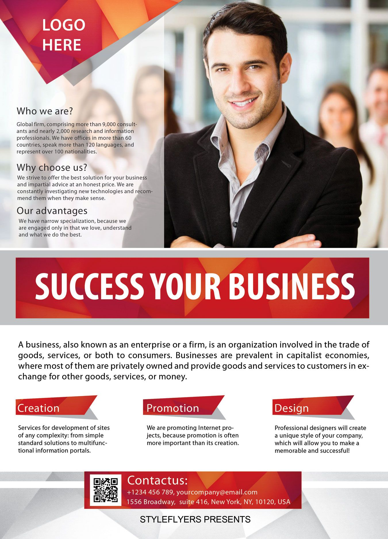 A4 business flyer template free download 2424 flyers pinterest great advertisement for your business training download it right now business training wajeb Images