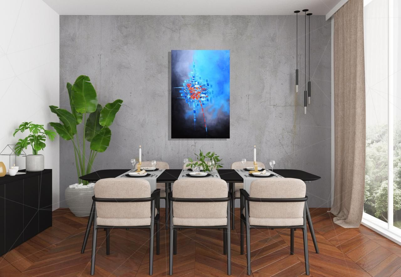 Abstract Art for Sale #art #abstract #bedroom #decor #dinningroom #interiordesign #painting