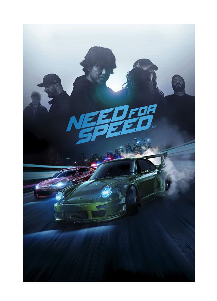 Need for Speed (SONY PlayStation 4, 2015) ps4 gaming