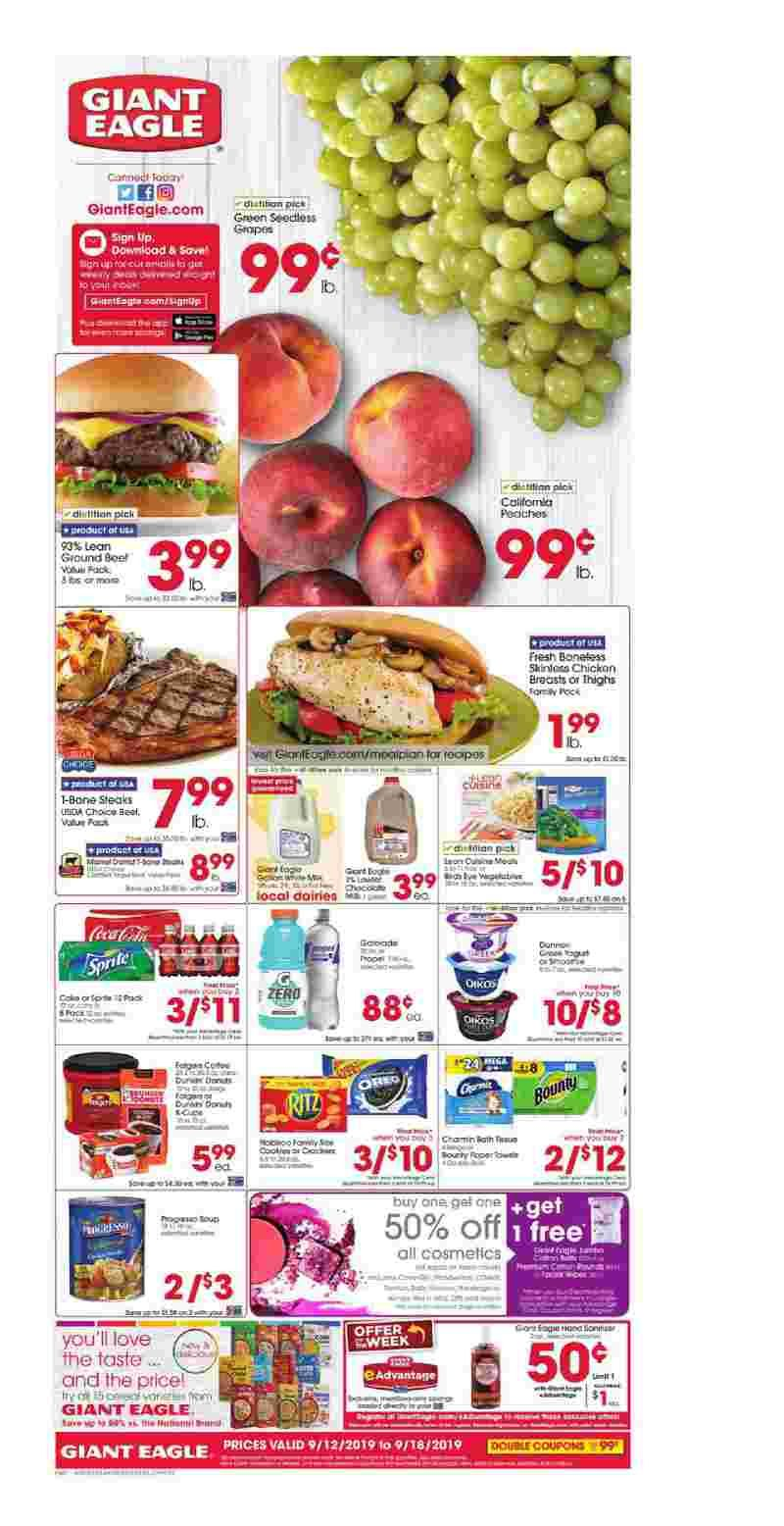 Giant Eagle Weekly Ad Flyer February 27 March 04 2020 Giant Eagle Grocery Ads Weekly Ads