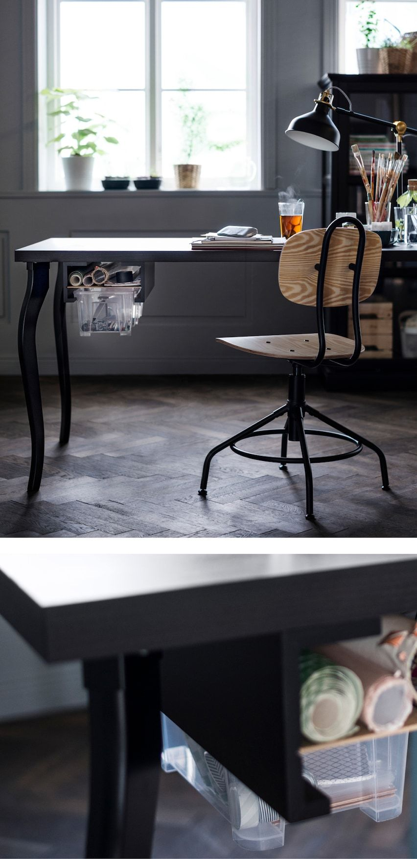 38++ Ikea craft table with drawers ideas