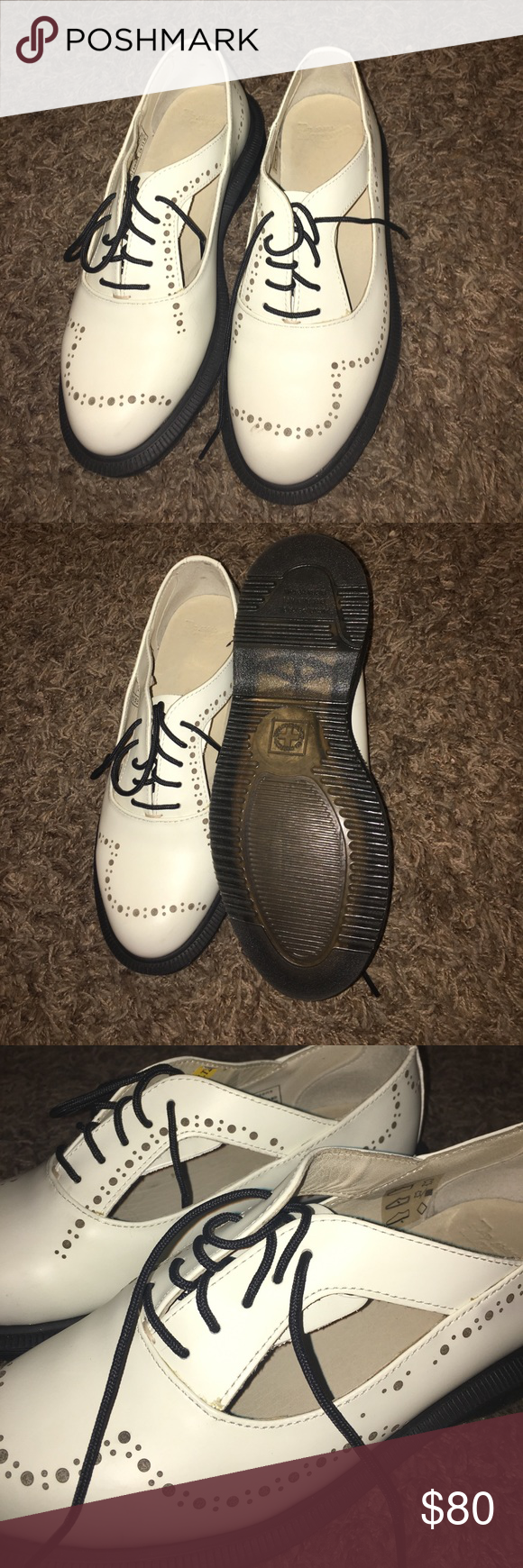 Dr martens Ruby oxfords off white uk3 us5.5 Dr martens Ruby oxfords off white uk3 us5.5 Dr. Martens Shoes Flats & Loafers