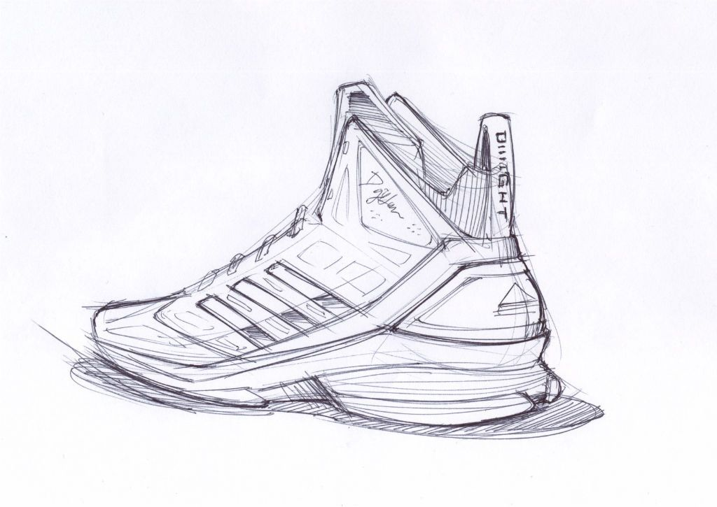 meet f072c fbb65 Sketch Work  adidas D Howard Light (2)