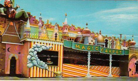 Magic Carpet ride at Petticoat Junction Amusement Park ...