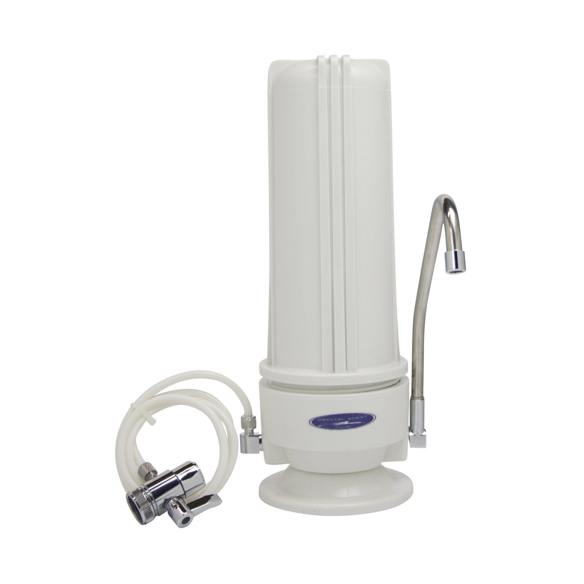 Arsenic removal smart single cartridge countertop water