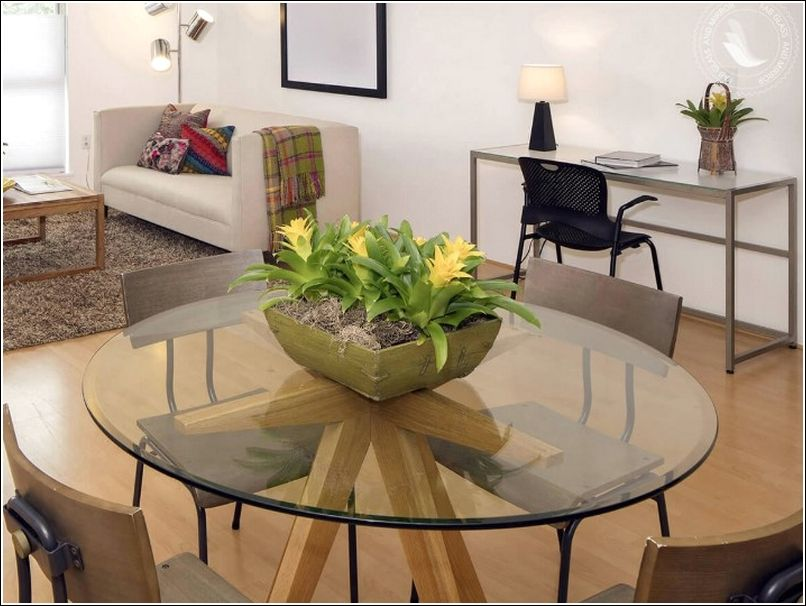 Pin On Home Decor, Round Glass Table Top 42