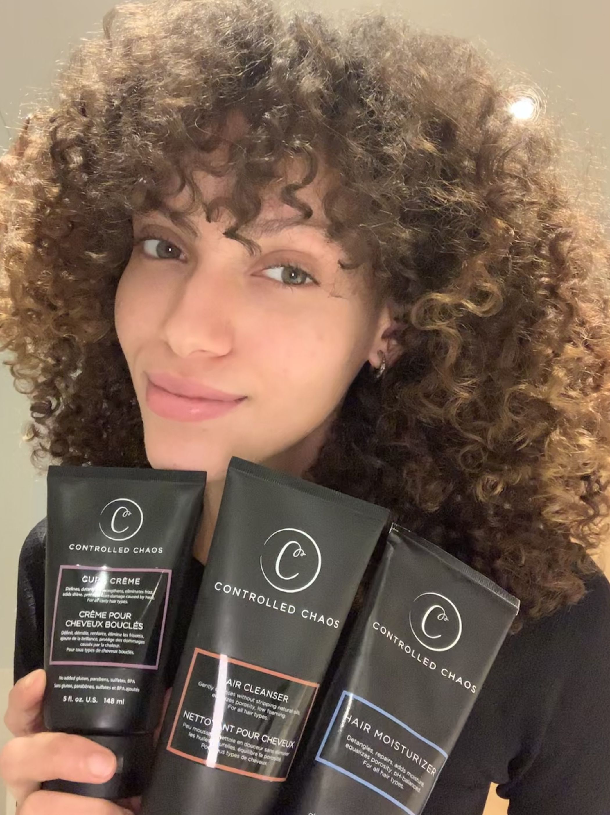 beautiful curly girl @naluuuuuh with controlled chaos bundle