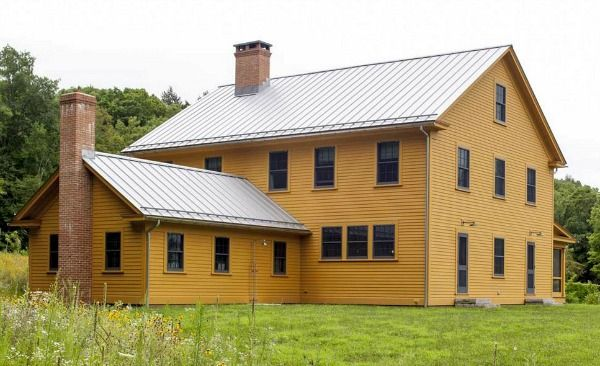 New Farmhouse With Clic Style In Connecticut Hookedonhouses