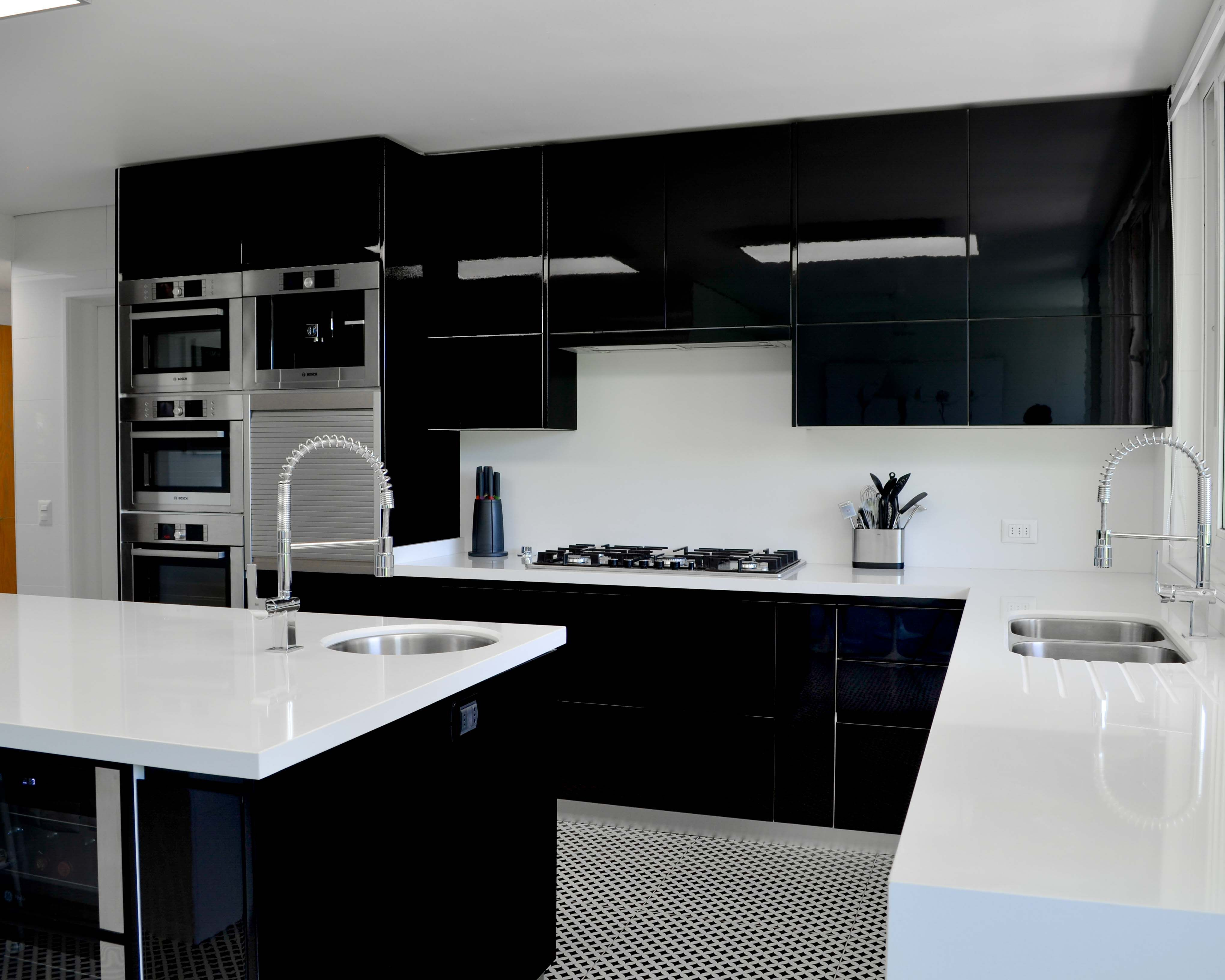 Cocina Tope Negro