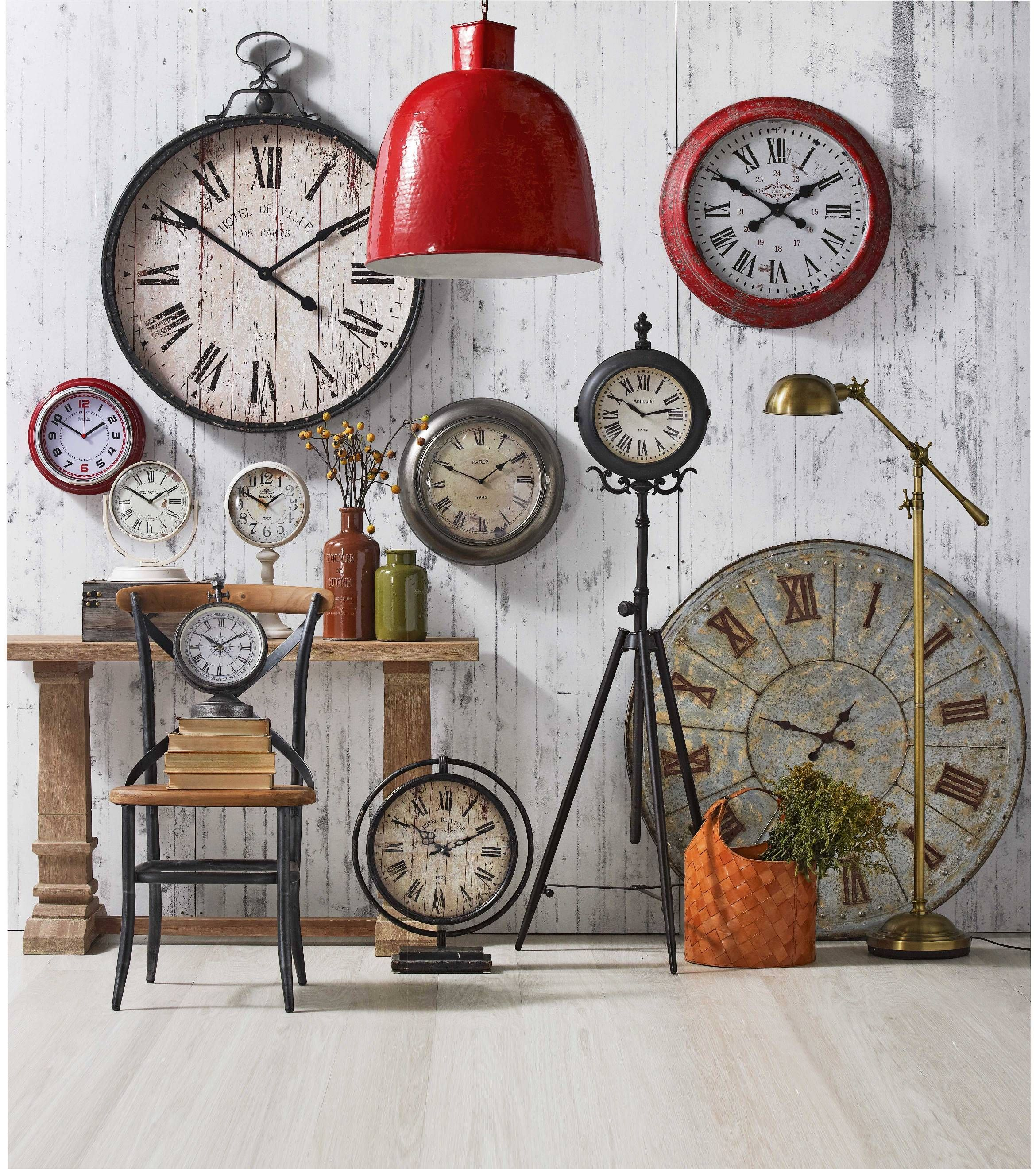 Assortment Of Clocks From Domayne Esspecially Love The Large Red