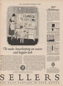 Sellers Kitchen Cabinets Vintage 1922 sellers elwood indiana hoosier kitchen cabinet cupboard